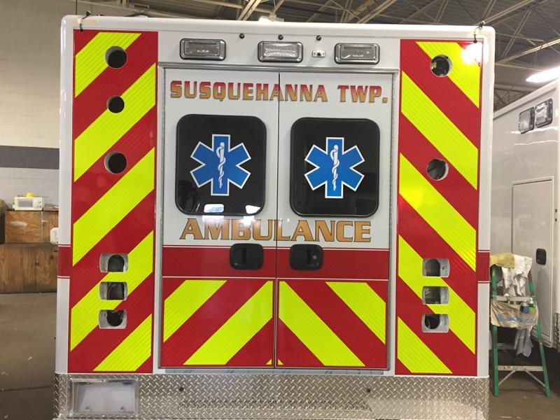 New Ambulance! | Susquehanna Township EMS